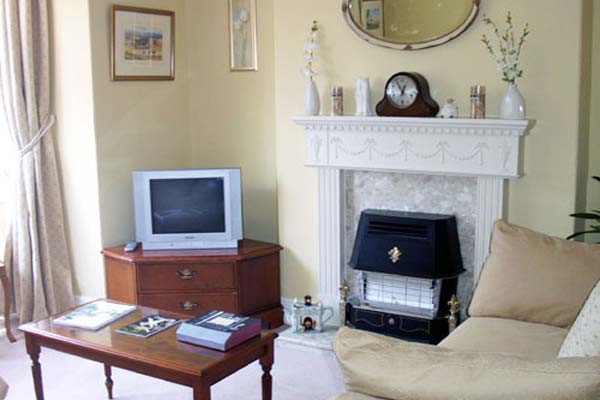 Lounge at Greenhills B&B, Leyburn