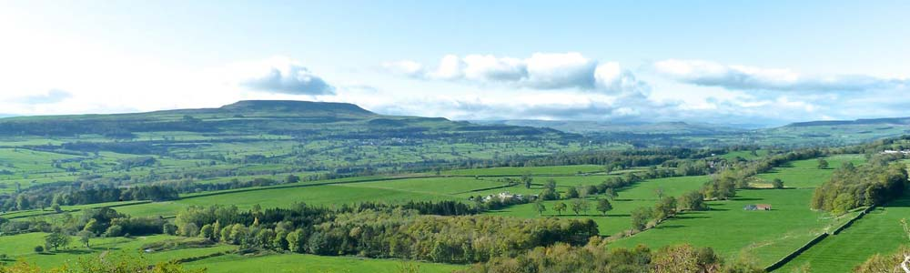 View of Pen Hill from Leyburn Shawl